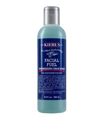 Gel limpiador facial para hombres
