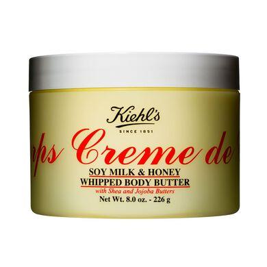 Crema para el cuerpo de miel y soya