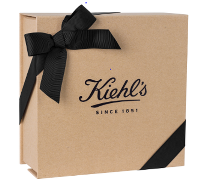 CRAFT GIFT BOX W/ BLACK RIBBON LG