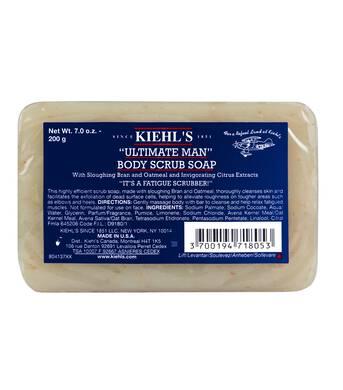 Jabón exfoliante con avena para hombres