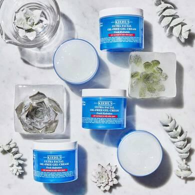 Crema en gel para hidratación facial